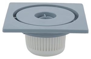 Shruti Plastic Drain Cover with Filter Cup Rs 98 amazon dealnloot