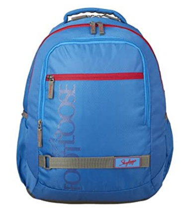 Skybags 33 cms Blue Casual Backpack (BPTAZ1BLU)