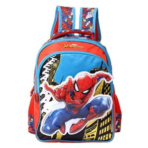 Spiderman Polyester 30 cms Multi School Backpack Rs 303 amazon dealnloot