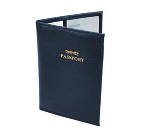 Storite PU Leather Travel Passport Holder Cover Rs 49 amazon dealnloot