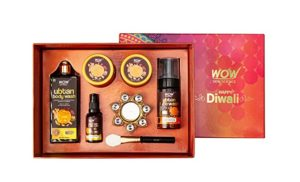 WOW Skin Science Diwali Box Contains Ubtan Rs 999 amazon dealnloot