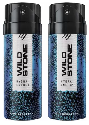 Wild Stone HYDRA ENERGY ( PACK OF 2) Deodorant Spray