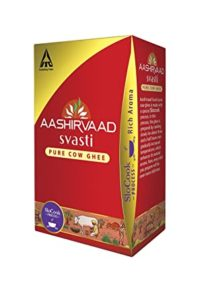 Aashirvaad Svasti Pure Cow Ghee 1L Rs 474 amazon dealnloot