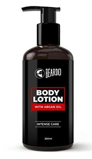 Beardo Body Lotion With Argan Oil For Intense Care, 300 ml