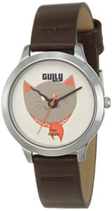 Gully by Timex Cats Analog White Dial Rs 428 amazon dealnloot
