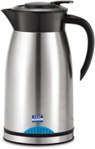 Kent Kettle cum Flask 1500 ml Flask  (Pack of 1, Silver, Steel) at Rs 1049