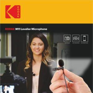 Kodak M11 2.5mm Lavalier Microphone with Adapter for Smartphones Camera Microphone at Rs 699