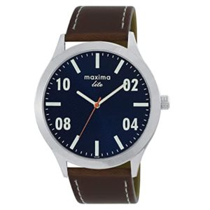Maxima Analog Blue Dial Men s Watch Rs 499 amazon dealnloot