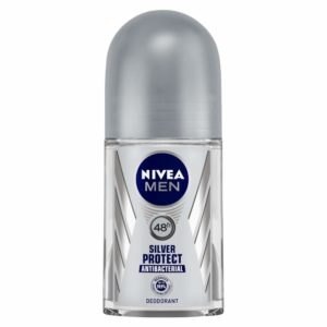 NIVEA Men Deodorant Roll On, Silver Protect, 50ml at Rs 113