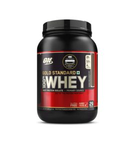 Optimum Nutrition (ON) Gold Standard 100% Whey Protein Powder - 2 lbs, 907 g (Double Rich Chocolate), Primary Source Isolate at Rs 2283