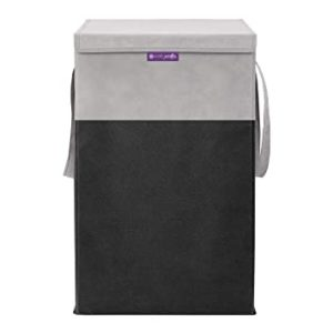 PrettyKrafts Folding Laundry Basket for Clothes with Rs 159 amazon dealnloot