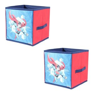 PrettyKrafts Superman Toys Organizer Set of 2 Rs 380 amazon dealnloot