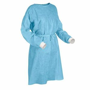 SURGICOMFORT Non Woven Disposable Surgeon Gown 40GSM Rs 99 amazon dealnloot