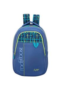 Skybags Quno 27 Ltrs Blue Casual Backpack Rs 599 amazon dealnloot