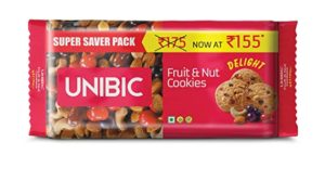 Unibic Fruit Nut Cookies 500 g Rs 82 amazon dealnloot