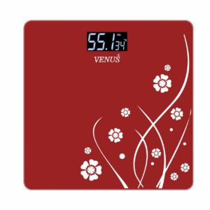 Venus EPS-2001 Electronic Bathroom Scale (Red) at Rs 679
