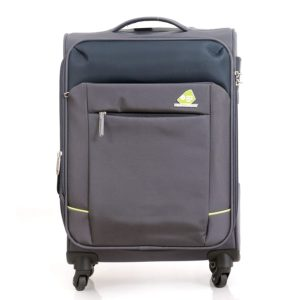 kamiliant by American Tourister Polyester Motive CLX Spinner Soft Trolley 56.5 cm ( Dark Grey)