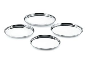 neelam SBCT009P Stainless Steel 9 22G Plate Rs 179 amazon dealnloot