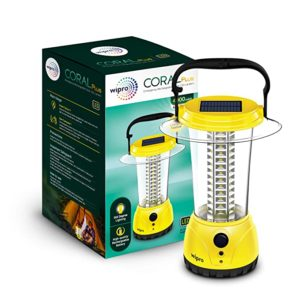 wipro Coral Plus Rechargeable Solar LED Lantern Rs 255 amazon dealnloot