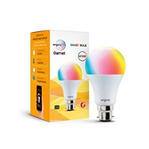 wipro WiFi Enabled Smart LED Bulb B22 Rs 401 amazon dealnloot