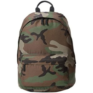 AmazonBasics Everyday Backpack Green Camouflage Rs 569 amazon dealnloot