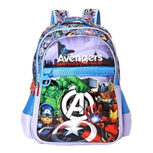 Avengers Polyester 35 cms Multi School Backpack Rs 374 amazon dealnloot