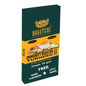 BOGATCHI White Chocolate Bar with Immunity Boosting Rs 115 amazon dealnloot