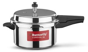 Butterfly Cordial Induction Base Aluminium Pressure Cooker Rs 899 amazon dealnloot