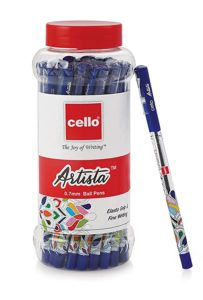 Cello Artista Ball Pens 25 Pens Jar Rs 129 amazon dealnloot