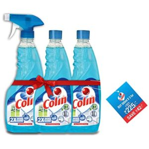Colin Glass Cleaner Spray 500 ml Pack Rs 191 amazon dealnloot