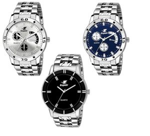 Espoir Analogue Stainless Steel Multicolor Dial For Rs 189 amazon dealnloot