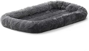 Fluffy s Luxurious Dog Bed Bolster Dog Rs 341 amazon dealnloot