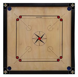 Gencliq Wooden Carrom Board Without Coins Striker Rs 443 amazon dealnloot