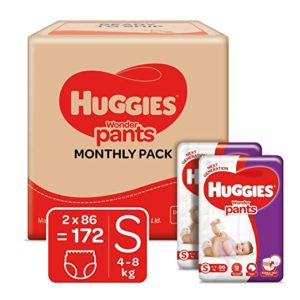 Huggies Wonder Pants Monthly Box Pack Diapers Rs 1145 amazon dealnloot