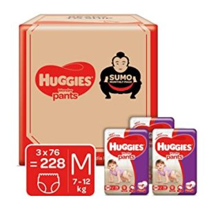 Huggies Wonder Pants Sumo Monthly Box Pack Rs 1759 amazon dealnloot