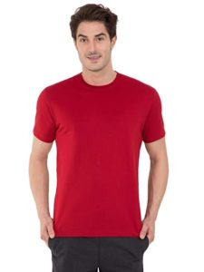 Jockey Men s Regular Fit T Shirt Rs 239 amazon dealnloot