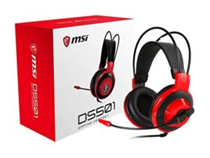 MSI DS501 Gaming Headset with Microphone Rs 1920 amazon dealnloot