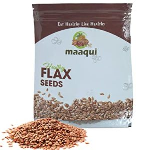 Maaqui Healthy Raw Flax Seeds 500 Gm Rs 83 amazon dealnloot