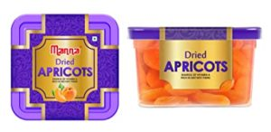 Manna Dried Apricots 360g 180g x 2 Rs 290 amazon dealnloot