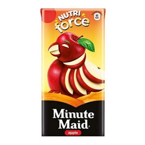 Minute Maid Nutriforce Apple Pack of 20 Rs 85 amazon dealnloot