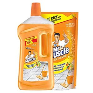 Mr Muscle Floor Cleaner Citrus 1L Bottle Rs 109 amazon dealnloot