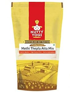 Nutty Yogi Methi Thepla Atta Mix 1 Rs 118 amazon dealnloot