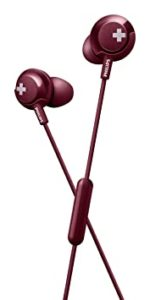Philips Bass SHE4305 Headphones with Mic Red Rs 349 amazon dealnloot
