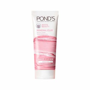 Pond's White Beauty Mineral Clay Instant Brightness Face wash Foam 90g at Rs 116