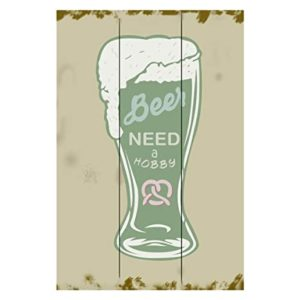 Sehaz Artworks Need a Hobby Beer Wooden Rs 77 amazon dealnloot