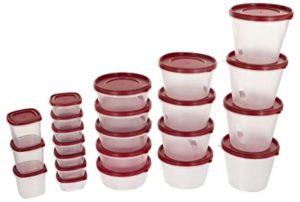 SimpArte Plastic Grocery Container 26 Pieces Blushing Rs 369 amazon dealnloot