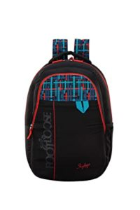 Skybags Quno 27 Ltrs Black Casual Backpack Rs 599 amazon dealnloot