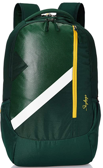 Skybags Tekie 06 30 Ltrs Dark Green Laptop Backpack