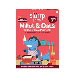 Slurrp Farm Organic Porridge Millet and Oats Rs 150 amazon dealnloot