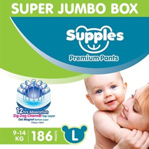 Supples Baby Diaper Pants L Pack of Rs 1559 amazon dealnloot